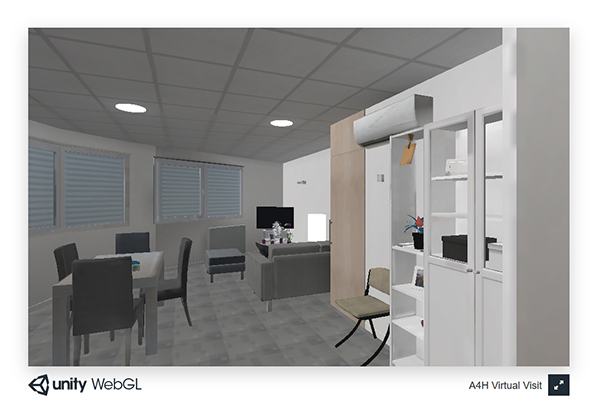 Instrumented appartment